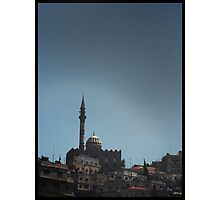 A hill top Mosque Photographic Print