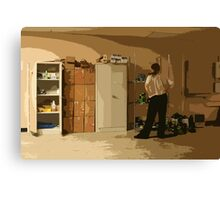 Projection Life Canvas Print