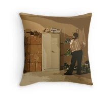 Projection Life Throw Pillow