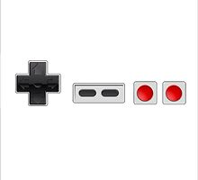Nes controller by Pedro0347