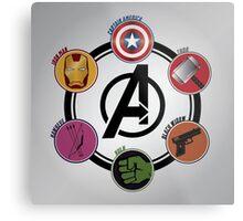 Avengers Logo Metal Print