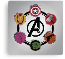 Avengers Logo Canvas Print