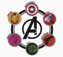Avengers Logo Kids Clothes