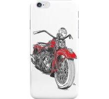 Harley red iPhone Case/Skin