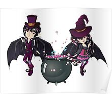 Witch and Vampire Poster