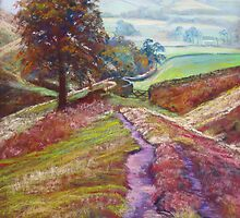 Descent to Ollerbrook - Collaboration with Mikebov by Lynda Robinson