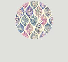 Patterned & Painted Floral Ogee in Vintage Tones T-Shirt