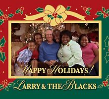 happy holidays larry and the blacks by magenandstacy