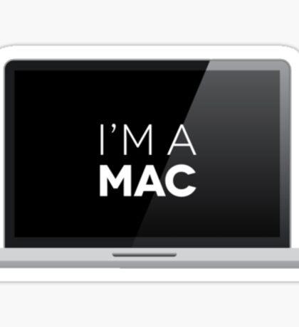That's right - I'm a MAC Sticker