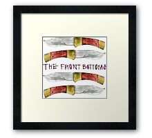 Talon of the Hawk - The Front Bottoms  Framed Print