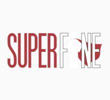 SuperFine for dark support Baby Tee