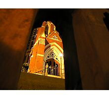 Golden Arches - Albert Street Uniting Church, Brisbane Photographic Print