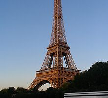 Eifel Tower by EvgenyA