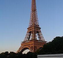 Eifel Tower by EvgenyA