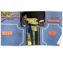 Ravenshoe Steam Train Series - The Drivers Poster