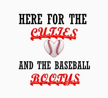 HERE FOR THE CUTIES AND THE BASEBALL BOOTYS Men's Baseball ¾ T-Shirt