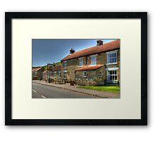 The Buck Inn Hotel Framed Print