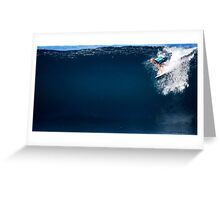 John John Florence Greeting Card