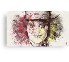 johnny depp-alice-in-wonderland Canvas Print