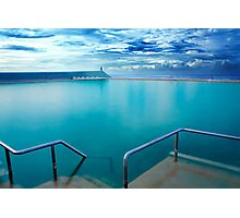 Newcastle Ocean Baths Photographic Print