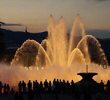 Barcelona Fountain Font Magica by Sturmlechner