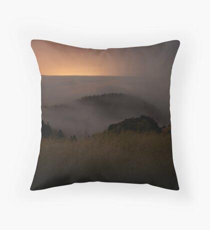 Pacific Fog  Throw Pillow