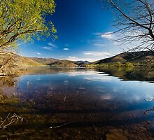 Deer Creek Reservoir in Utah by Alan Mitchell