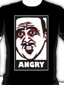 AngryAussie T-Shirt (for dark shirts) T-Shirt