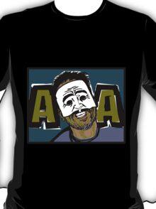 AngryAussie Mask Shirt (for dark shirts) T-Shirt