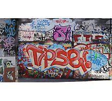Riverside Graffiti Photographic Print