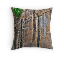 Nature prevails Throw Pillow