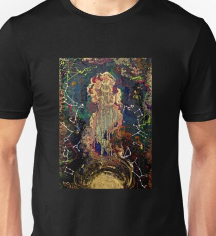 space/zodiac oil painting Unisex T-Shirt