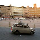 Fiat 500 in Siena by Sturmlechner