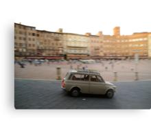 Fiat 500 in Siena Metal Print