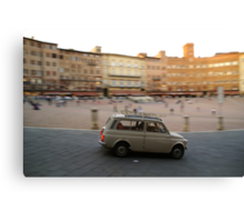 Fiat 500 in Siena Canvas Print