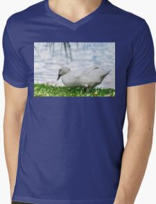 Duck Hunt Mens V-Neck T-Shirt