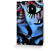 Off The Hook Fractal Greeting Card