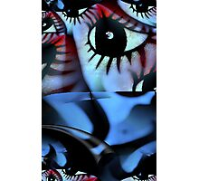 Off The Hook Fractal Photographic Print