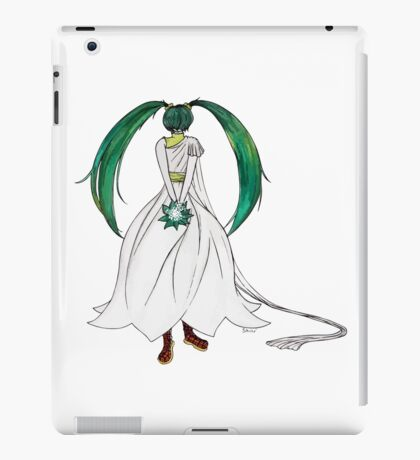 Flower Girl : Muguet (Lily of the valley) iPad Case/Skin