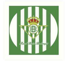 Real Betis Balompié Art Print