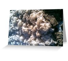 Froth at Saltwater Greeting Card
