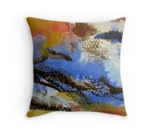 Colours of the Outback Throw Pillow