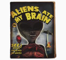 Aliens Ate My Brain (Pulp Cover) by mdkgraphics