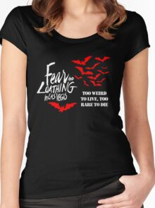 FEAR AND LOATHING IN LAS VEGAS T SHIRT Women's Fitted Scoop T-Shirt