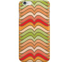 Wavy Abstract Colorful Stripes iPhone Case/Skin