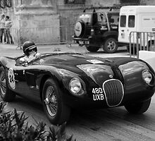 Jaguar C type 1959 by Joseph  borg