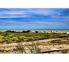 Beach of Marina di Butera, Sicily Photographic Print