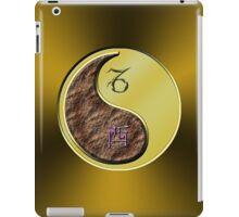 Capricorn & Rooster Yin Metal iPad Case/Skin
