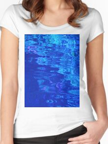 Lily Pond Reflections Women's Fitted Scoop T-Shirt
