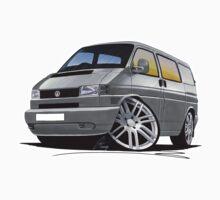 VW T4 Kombi (Custom Grey) by Richard Yeomans